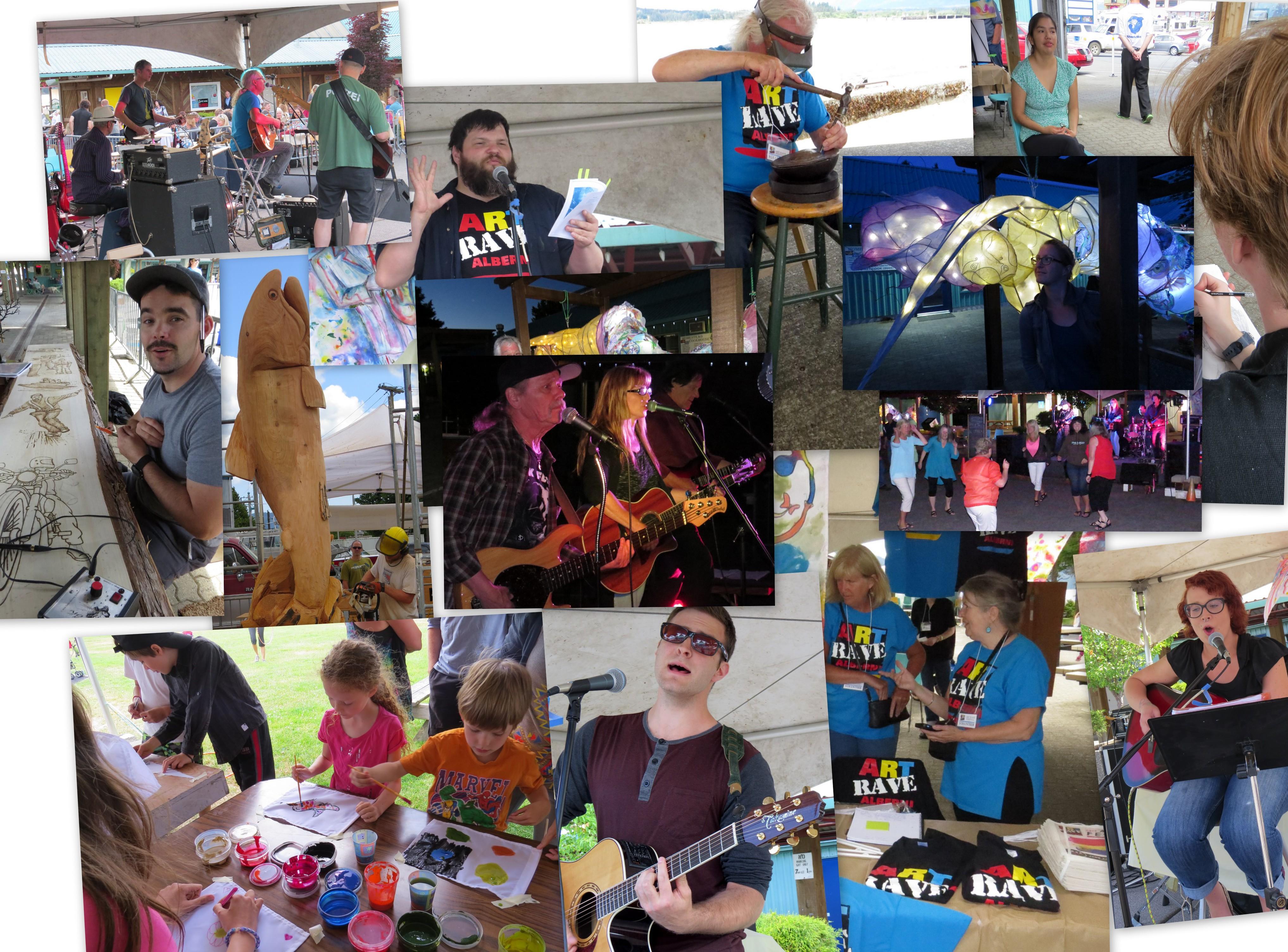 Alberni Art Rave Saturday 2015