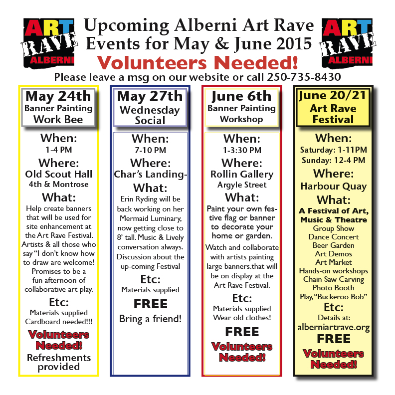 AR Events May 2015