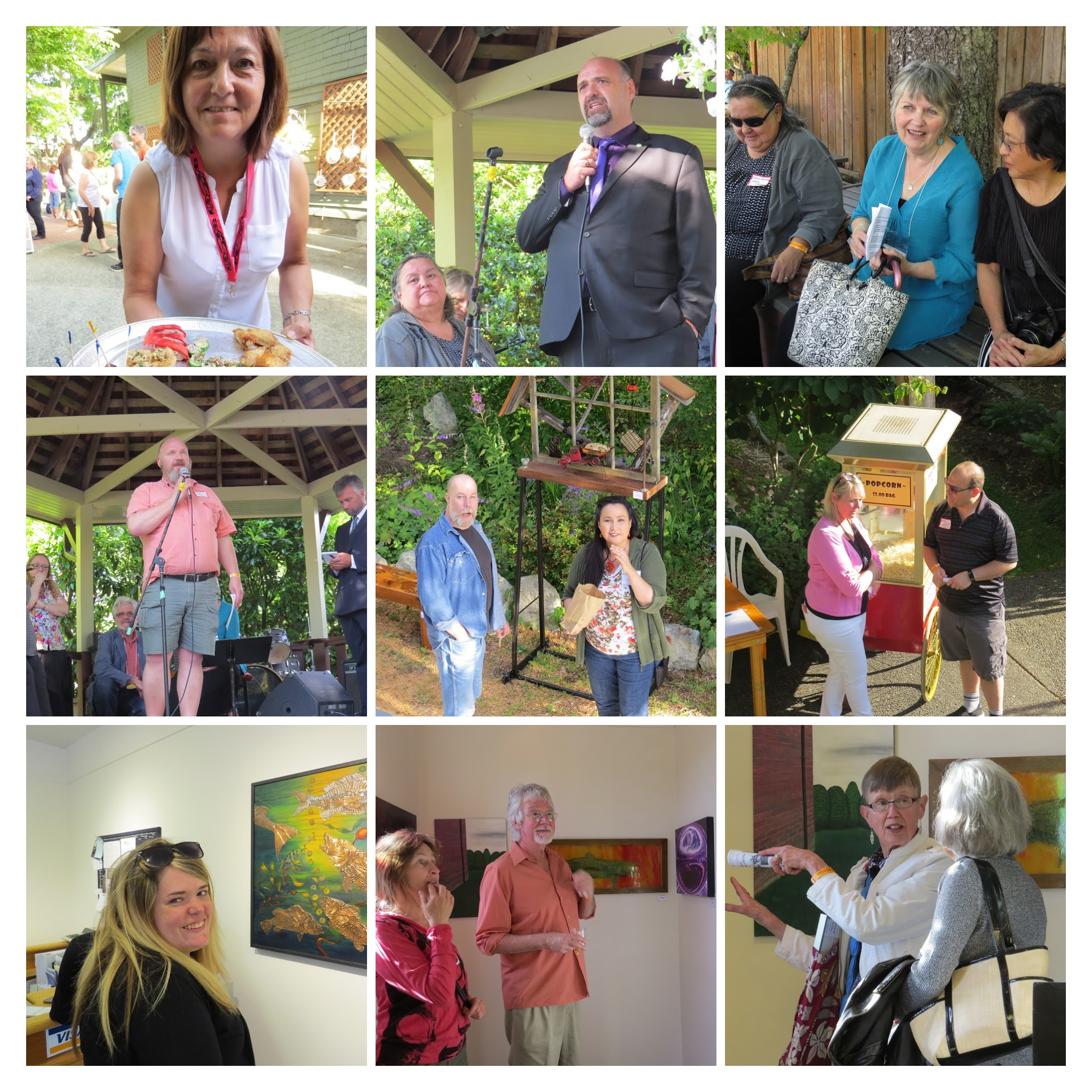 Click collage for more photos from Art Rave 2016 Reception